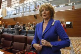 Aguirre: «Ha llegado la hora del cambio a España, y por supuesto en la educación»