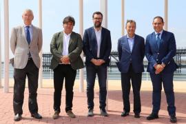 Palma estudia el modelo de la Ría de Huelva para aplicar en el Paseo Marítimo