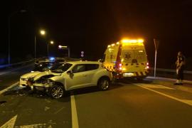 Nuevo accidente en un punto negro de la carretera entre Palma y Andratx