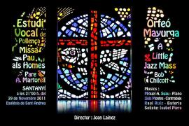 Música sacra con  Estudi Vocal y Orfeó Mayurqa