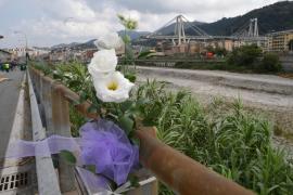 Génova recuerda a las víctimas del puente Morandi