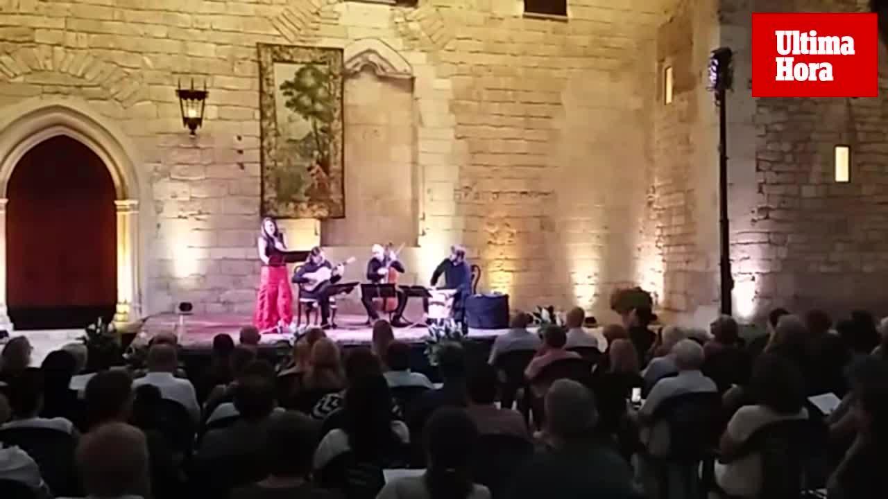 El Palau de l'Almudaina, escenario musical