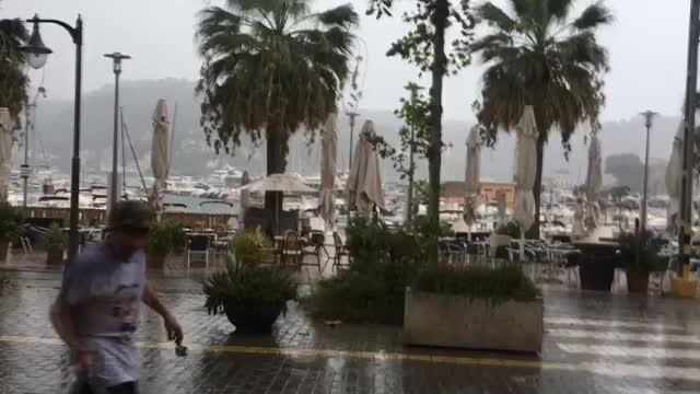 Sábado lluvioso en Mallorca