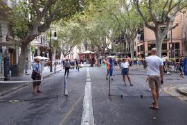 Anulados por la lluvia los actos de la Diada de la Movilidad previstos para la tarde del sábado