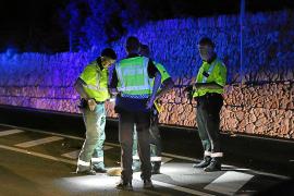 El joven arrollado en s'Estanyol se bajó de un autocar y caminaba de noche por la vía