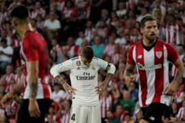 Athletic y Real Madrid empatan en San Mamés