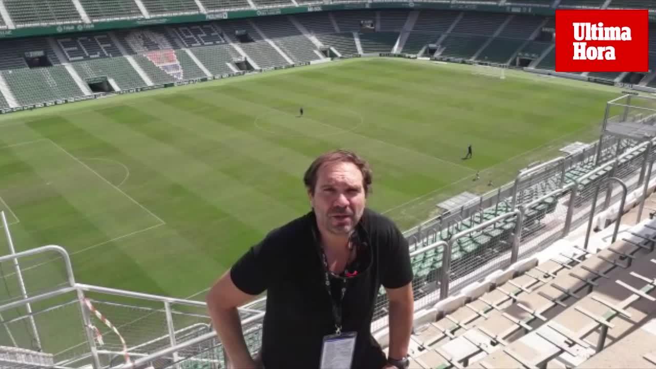 Miquel Alzamora analiza el primer empate del Real Mallorca