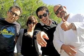 Tres «gamberros» y una dama para un 'show' con «humor y mucho swing»