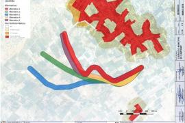 El GOB critica el proyecto injustificado de una nueva carretera en Campanet