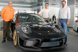 El espectacular Porsche 911 GT3 RS, invitado de excepción en Centro Porsche Baleares