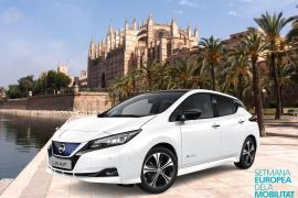 Nissan da a conocer el nuevo LEAF en la Semana Europea de la Movilidad de Palma