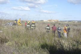 Dos muertos en Vilafranca en un accidente aéreo