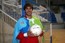 El meta Carlos Barrón, convocado con la selección española de fútbol sala
