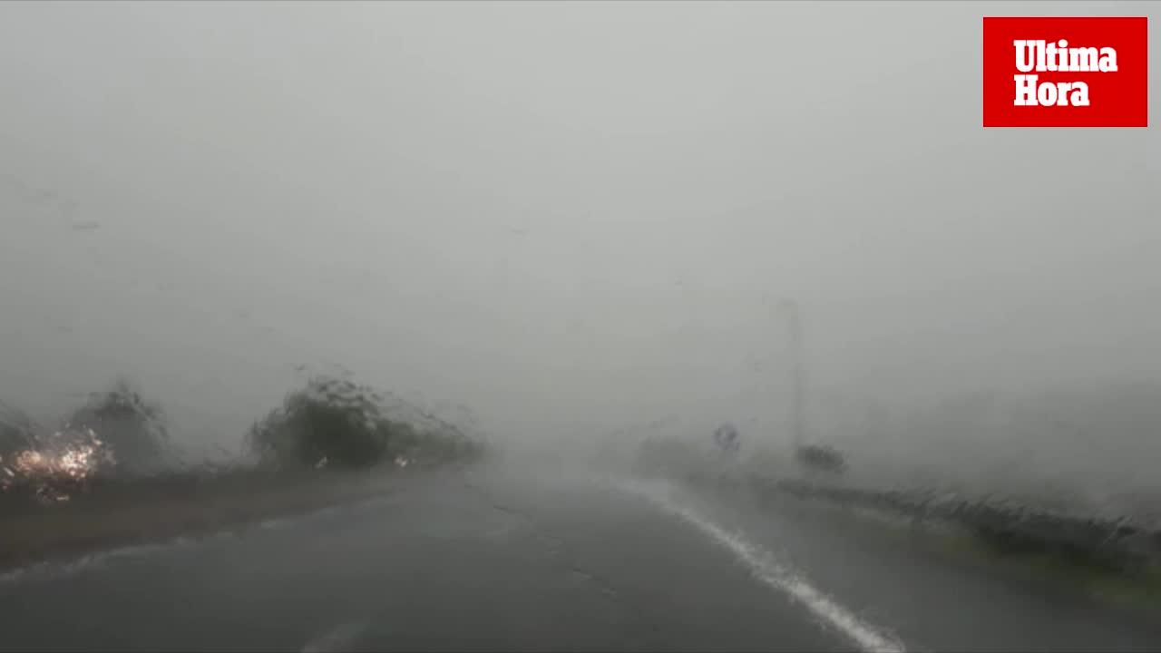 Vuelven los fuertes chubascos y las tormentas a Mallorca