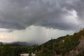 Baleares, en riesgo este martes por lluvias y tormentas