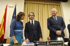 Aznar niega una «caja b» en el PP y que cobrara u ordenara sobresueldos ilegales
