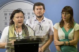 De la Concha (Podemos): «Estamos en un camino de colaboración muy importante»