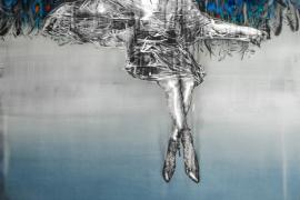 José Luis Puche expone 'Lo que vieron los vientos del sur' en la Galería Xavier Fiol