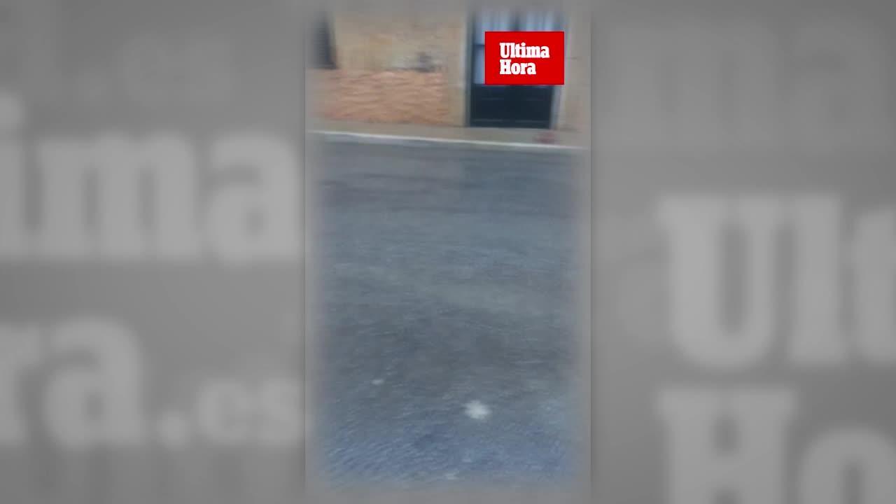 Lluvias intensas en el interior de Mallorca