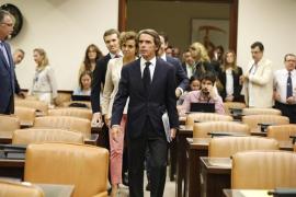 Aznar se desvincula del jefe de la Gürtel: «Ni conocía al señor Correa ni le contraté»
