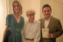 Los ganadores del Goya por 'Woody & Woody', con su «ídolo» en Nueva York