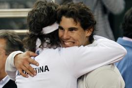 Rafael Nadal toma contacto con su último gran objetivo