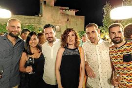Christian Wiegand, Marta, Tomeu Adrover, Marina Vera, Álvaro Valentin y Carlos Palomino.