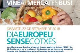 Los mercados de Palma repartirán el sábado billetes gratis de bus