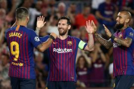 Messi y Dembélé dan al Barça una goleada contra el PSV