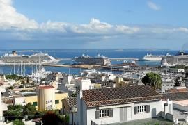 Lleno de cruceros en Palma