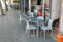 Los restauradores con terrazas se sienten perseguidos por el Ayuntamiento de Palma