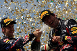 Webber gana la última carrera del año mientras que Alonso acaba cuarto