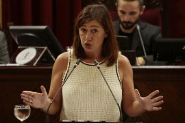 Armengol: «Creo que la única propuesta de futuro que ha hecho el PP ha sido la de eliminar la Oficina Anticorrupción»