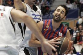 El Barcelona sigue al frente de la Liga ACB