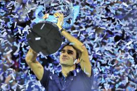 Federer conquista ante Tsonga su sexta Copa de Maestros