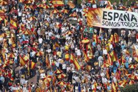 Campaña en WhatsApp para animar a la participación en la manifestación del 12 de octubre en Barcelona