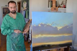 Miguel Ángel Guerreiro busca  «la inquietud» del público con la obra que expone mañana