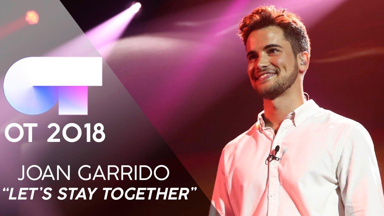 El mallorquín Joan Garrido, dentro de OT 2018