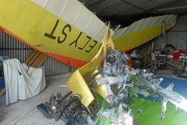 Los fabricantes del autogiro accidentado se desplazan a Vilafranca para investigar lo sucedido
