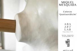 Aba Art Lab propone a Miquel Mesquida para esta Nit de l'Art 2018