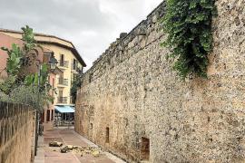 Alcúdia deberá revisar sus murallas y cerrar los tramos inestables en época de lluvias