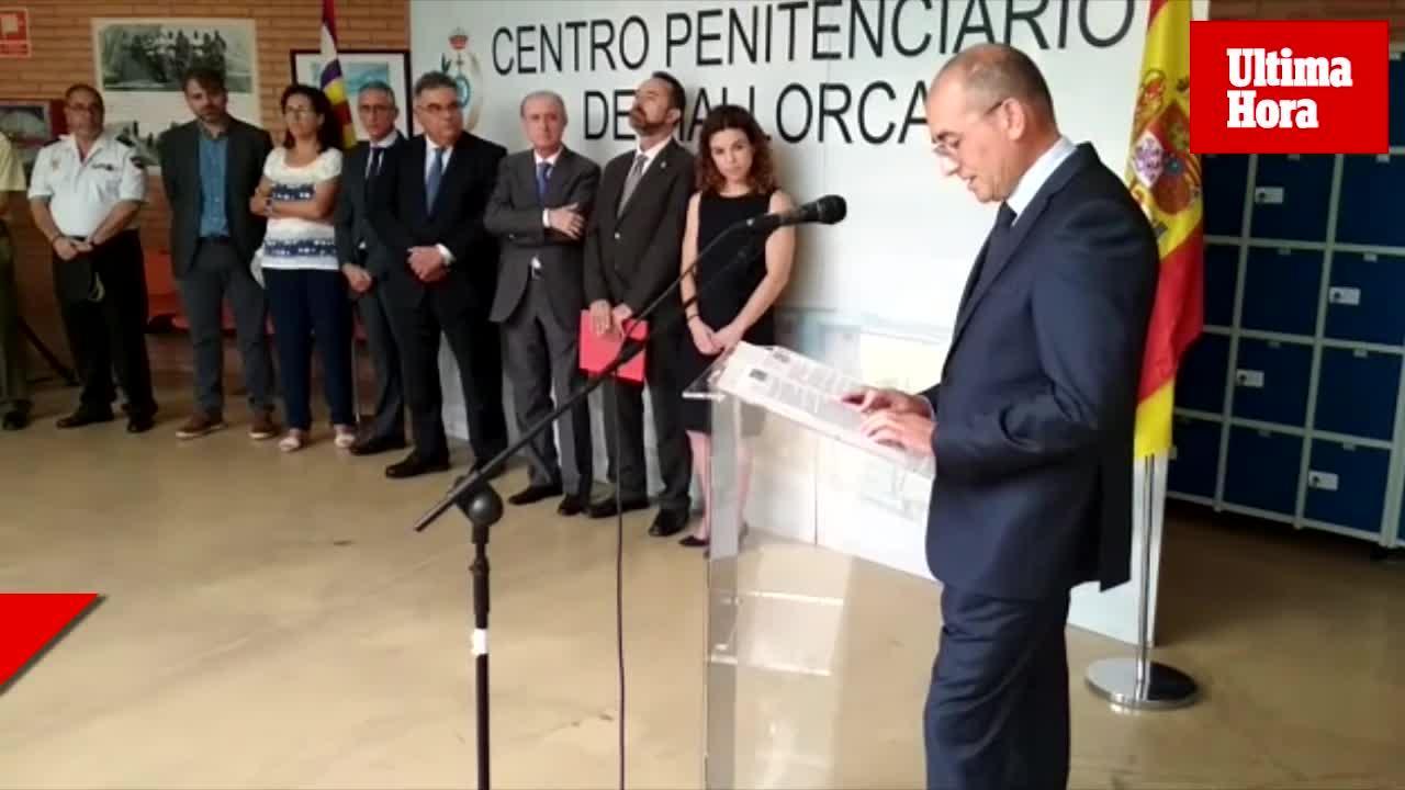 El director de la cárcel de Palma durante la fiesta de la Merced: «Las agresiones a funcionarios se han reducido de manera drástica»