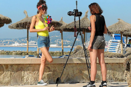 Palma se convierte en un set de rodaje, sobre todo de anuncios