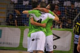 Primera alegría del Palma Futsal en Son Moix