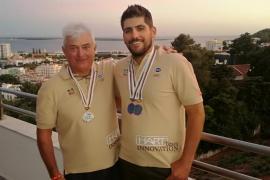 Josep Barceló y Juan Juanico, campeones del mundo de pesca