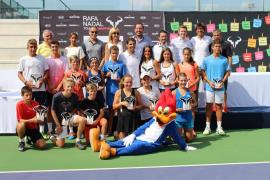 Rafael Nadal corona a los mejores en Manacor