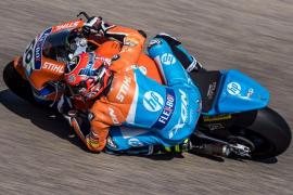 Joan Mir y Augusto Fernández, a remontar en Moto2