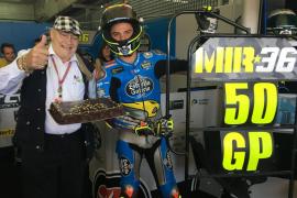 Joan Mir celebra 50 Grandes Premios en el Mundial