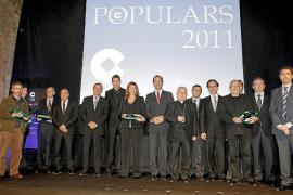 Cope-Mallorca entrega sus premios 'Populars 2011' en un multitudinario acto