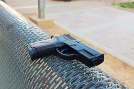 Un hombre, pistola en mano, siembra el pánico en un parque de Llucmajor